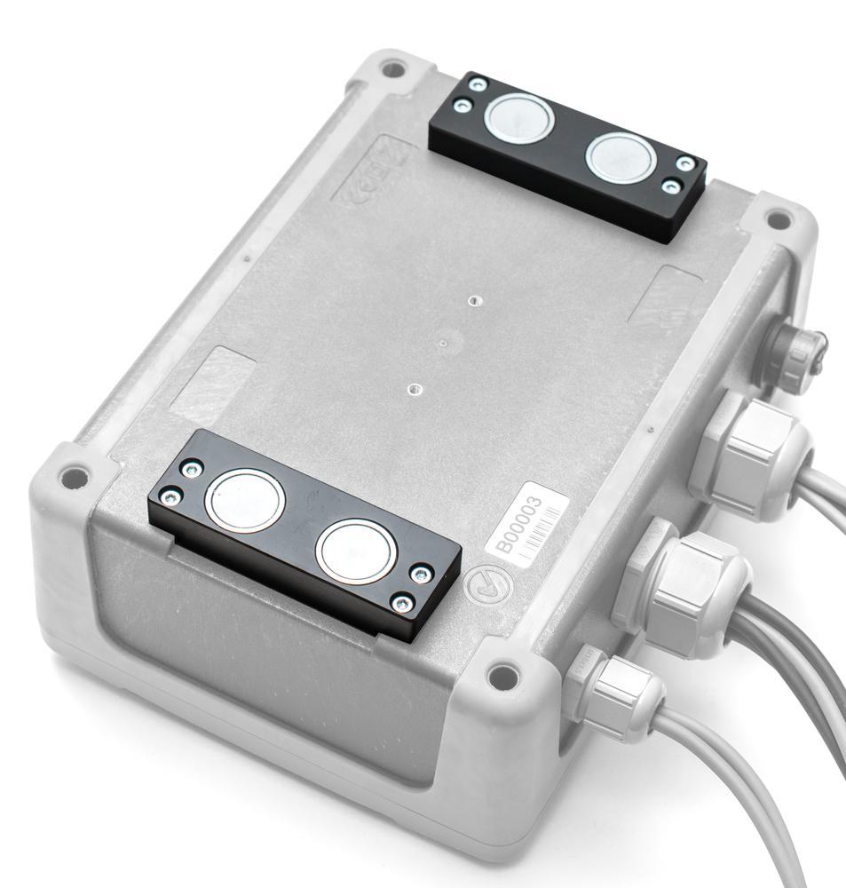 null Uchwyt magnetyczny do zamocowania miernika (2szt.)