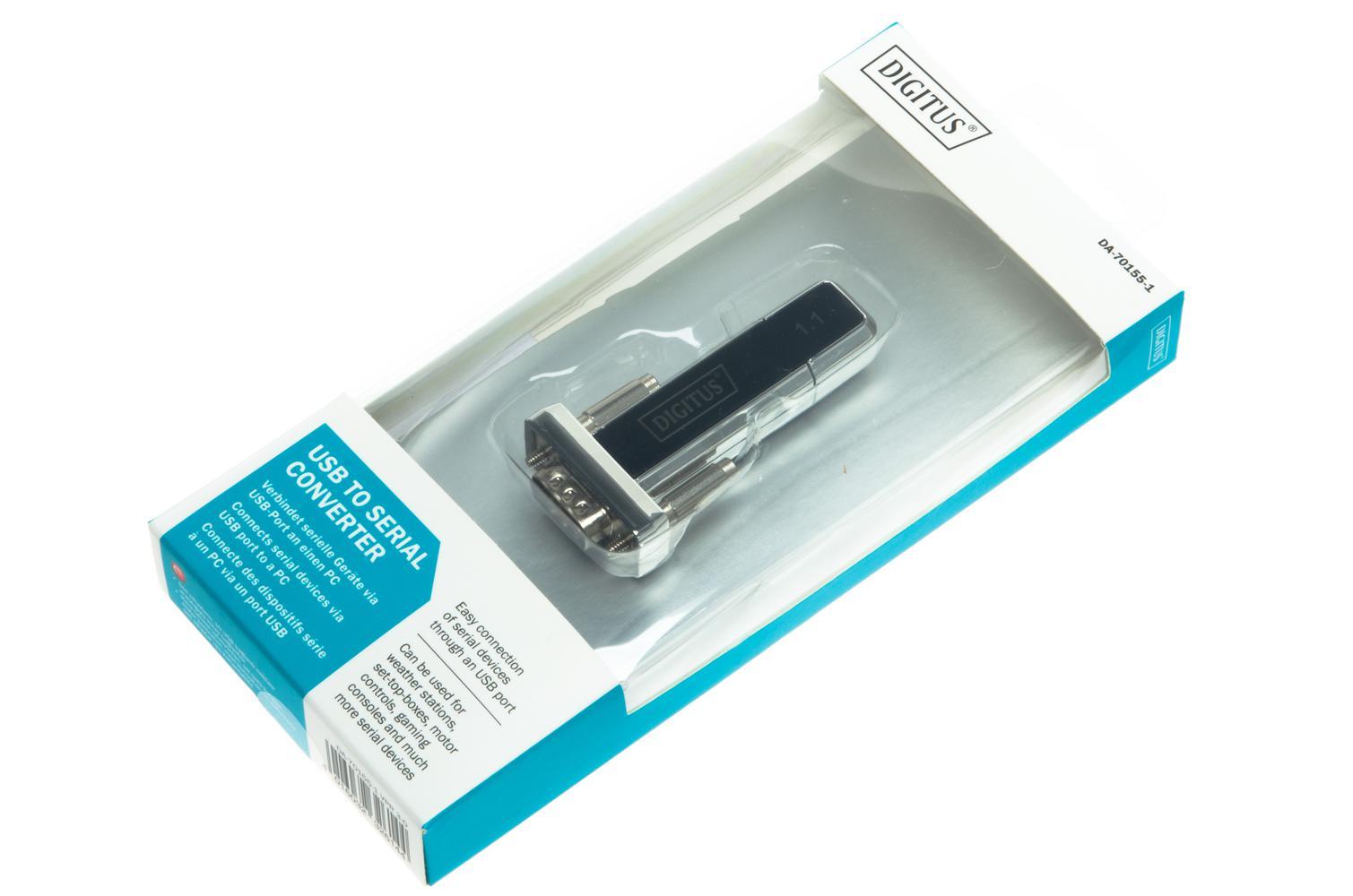 null Adapter - konwerter USB/RS-232