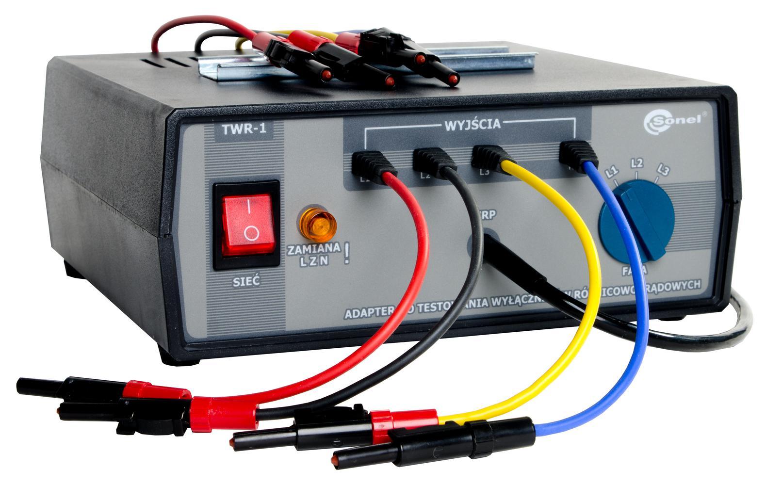 TWR-1 Adapter do testowania wyłączników RCD