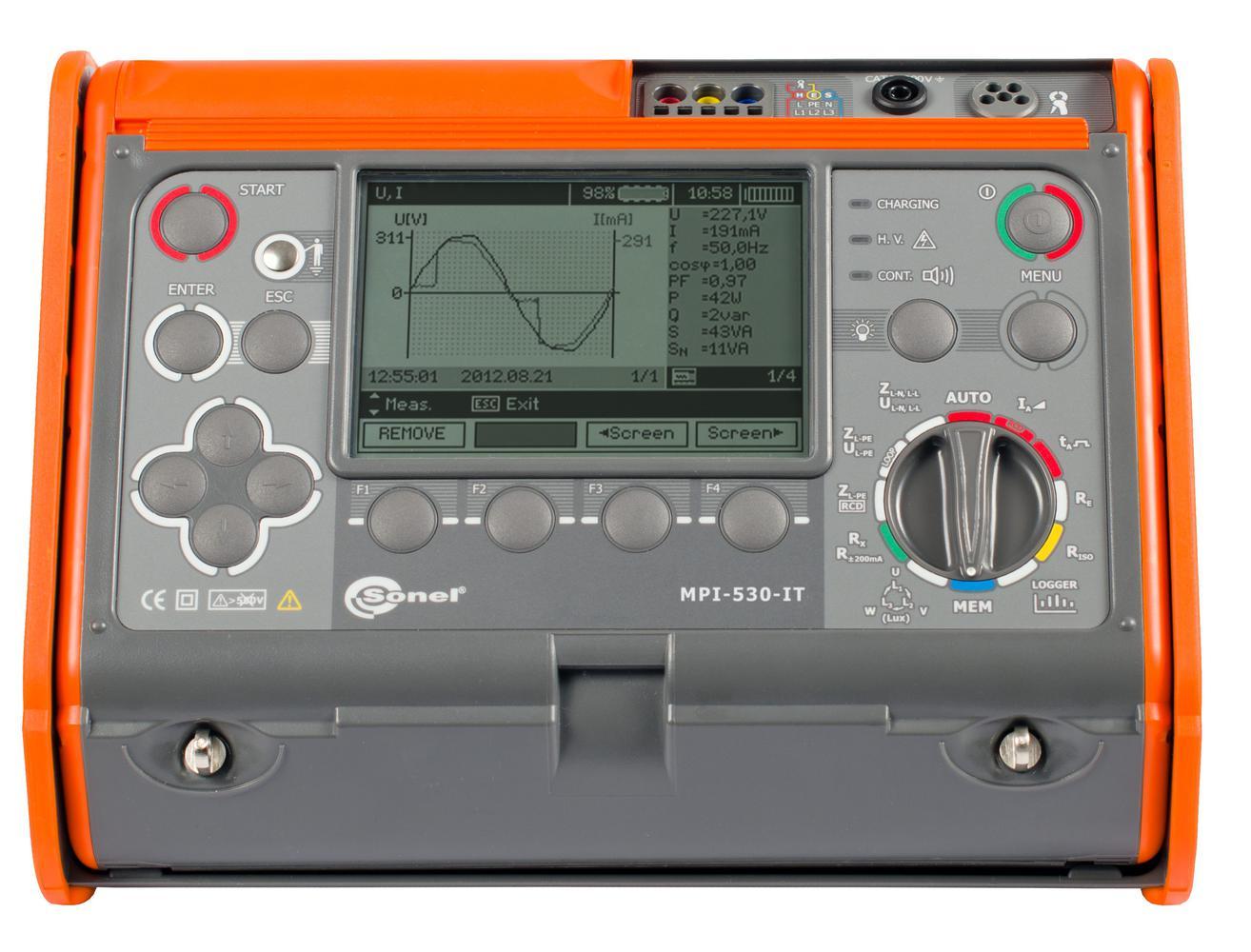 MPI-530-IT Miernik parametrów instalacji elektrycznych