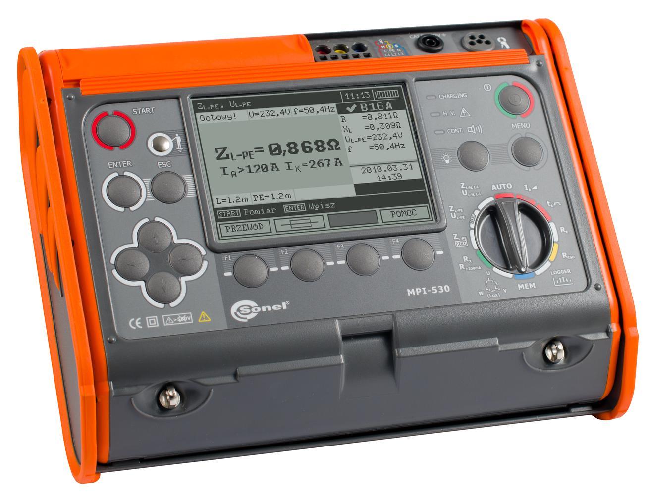 MPI-530 Miernik parametrów instalacji elektrycznych
