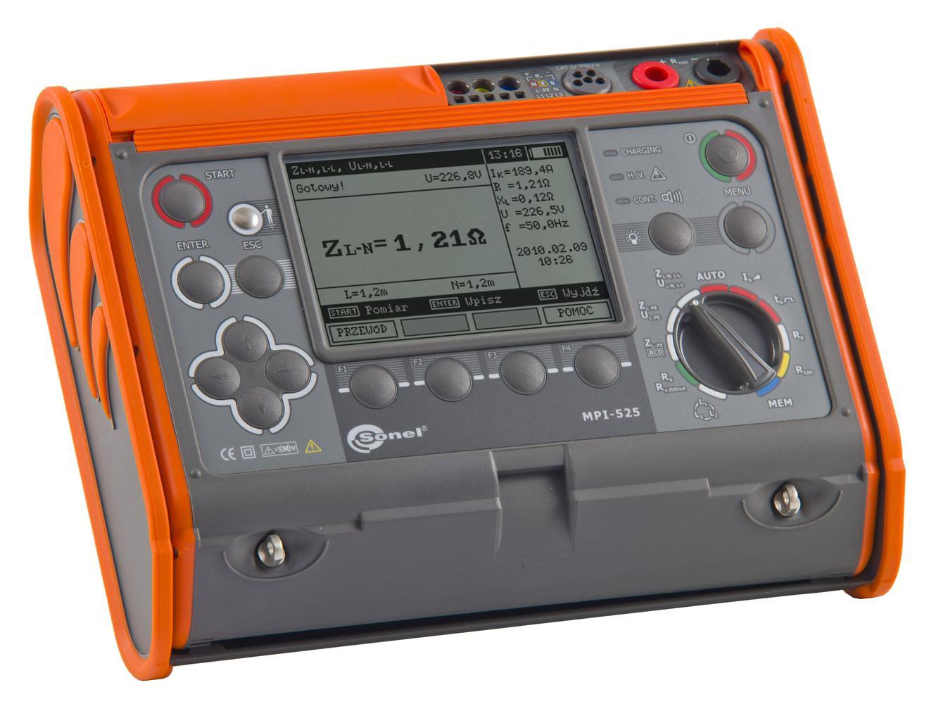 MPI-525 Miernik parametrów instalacji elektrycznych