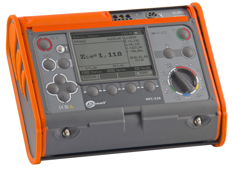 MPI-520 Miernik parametrów instalacji elektrycznych