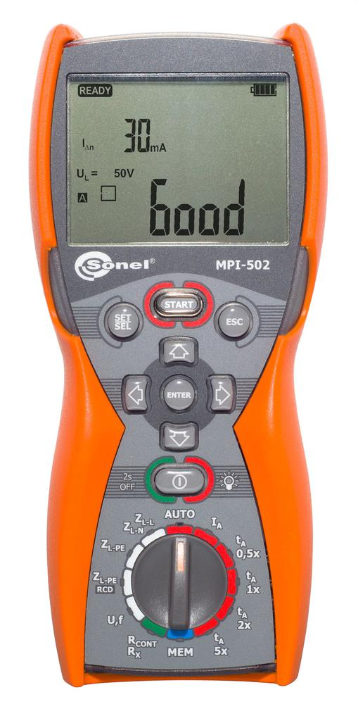 MPI-502 Miernik parametrów instalacji elektrycznych
