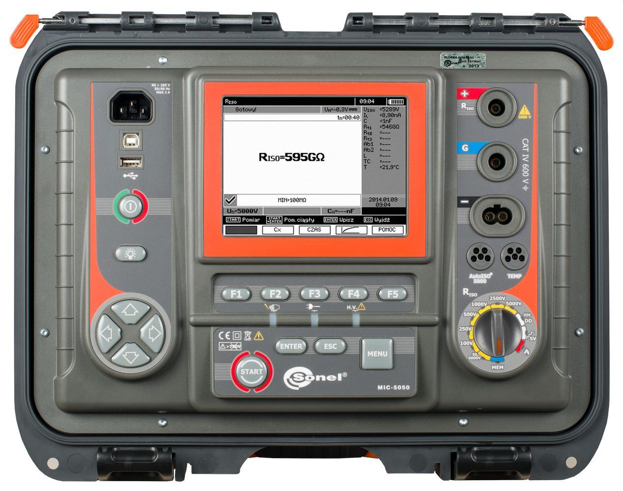 MIC-5050 Miernik rezystancji izolacji