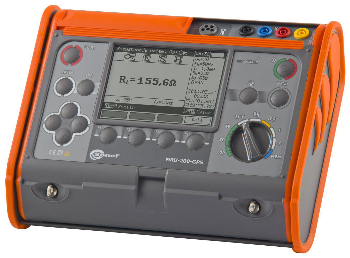 MRU-200-GPS Miernik rezystancji uziemienia i rezystywności gruntu