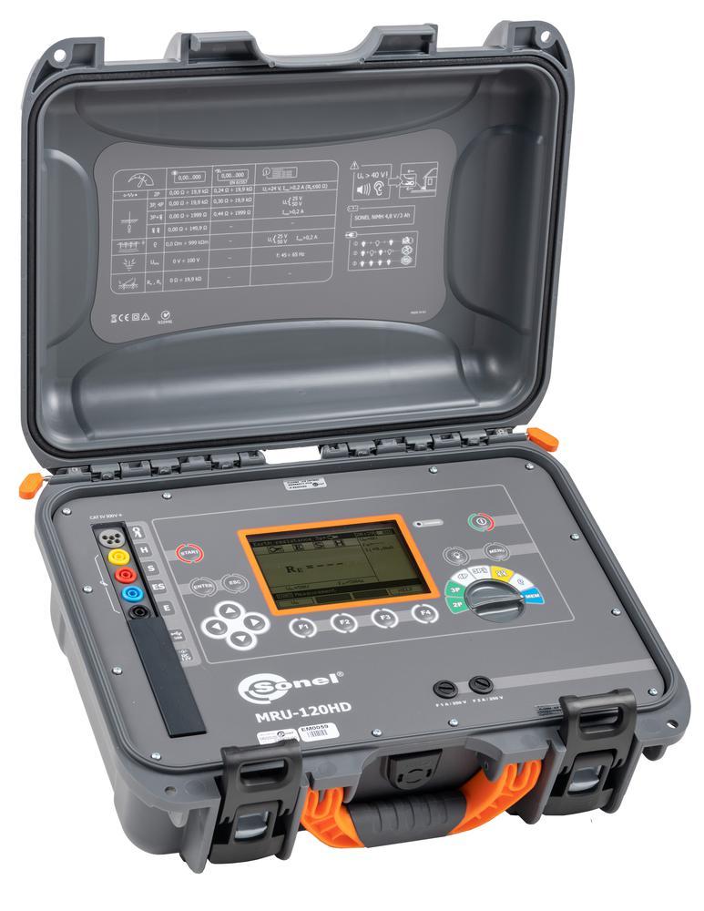 MRU-120HD Miernik rezystancji uziemienia i rezystywności gruntu