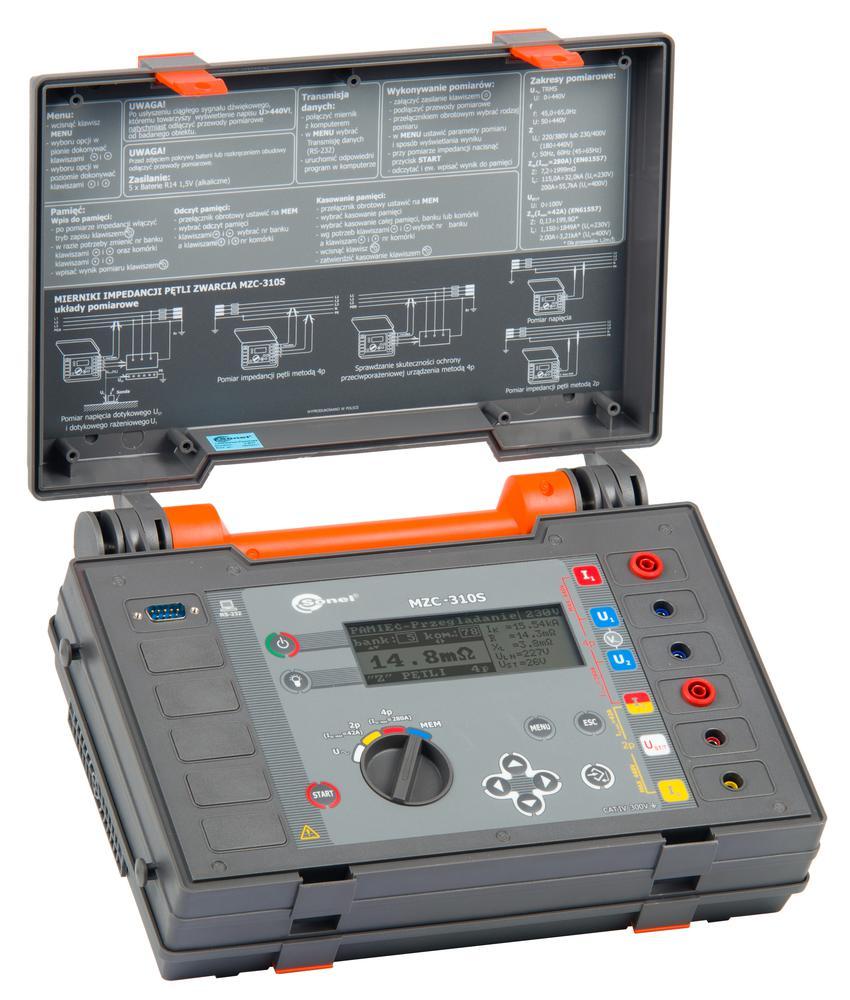 MZC-310S Silnoprądowy miernik impedancji pętli zwarcia
