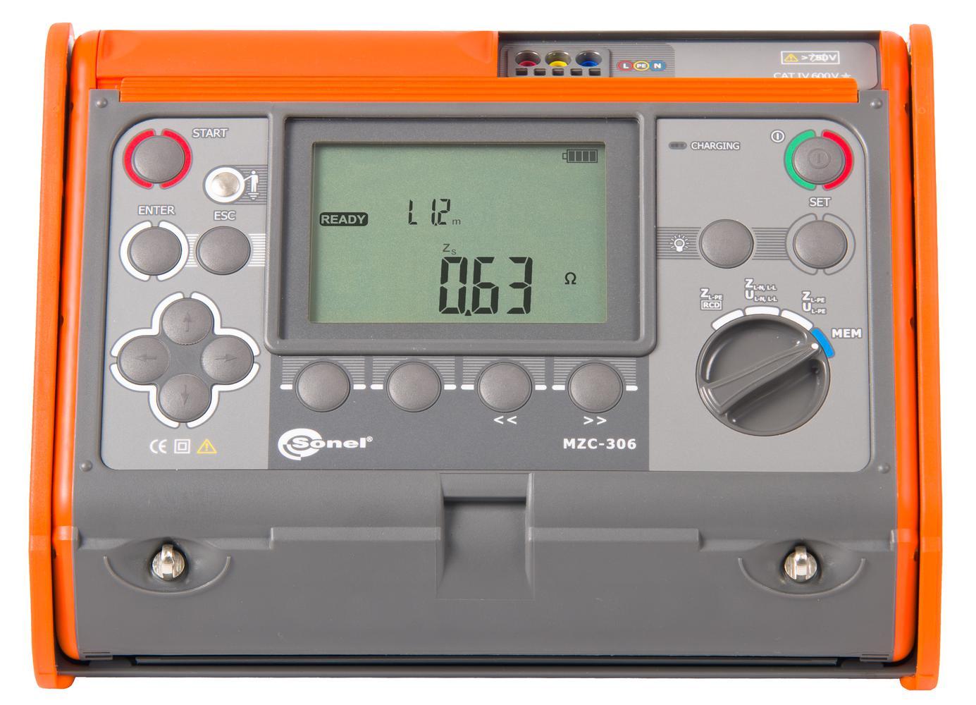 MZC-306 Miernik impedancji pętli zwarcia