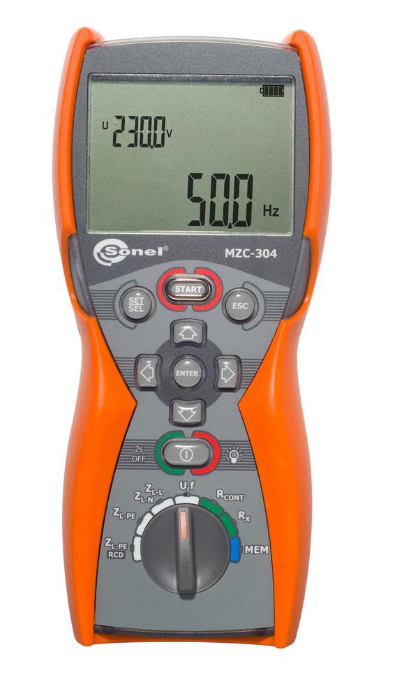 MZC-304 Miernik impedancji pętli zwarcia