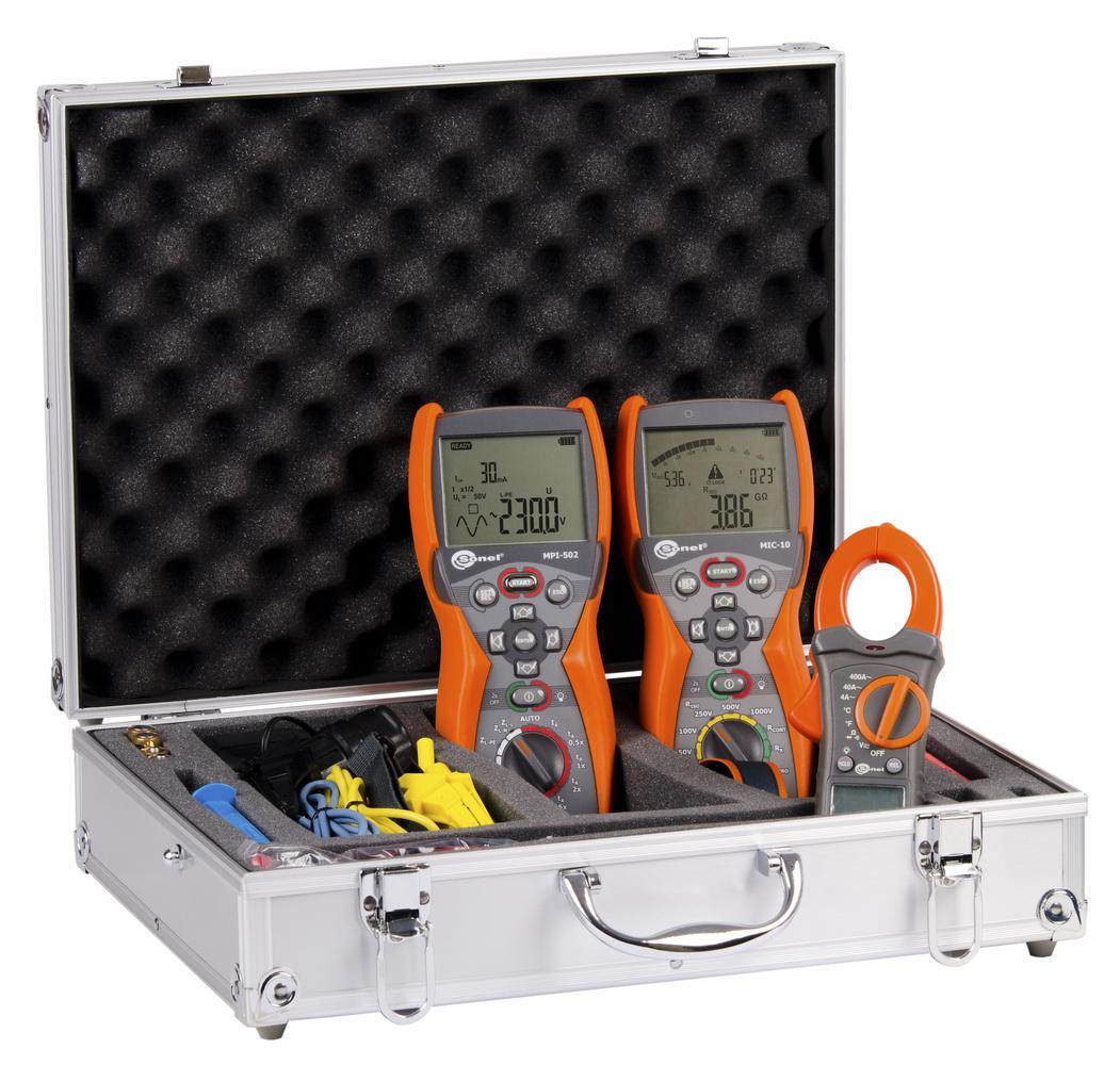 WME-5 Zestaw mierników instalacji elektrycznych
