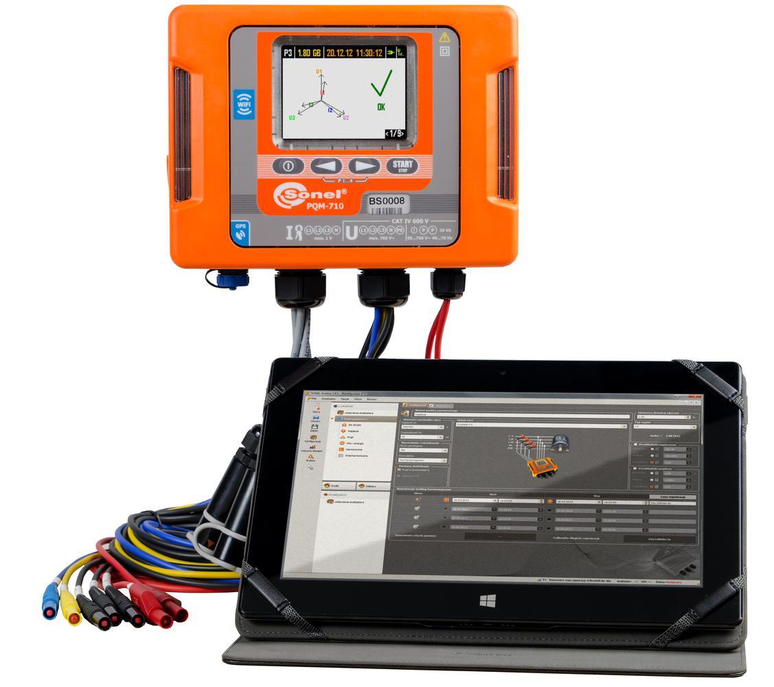 PQM-710 Analizator jakości zasilania