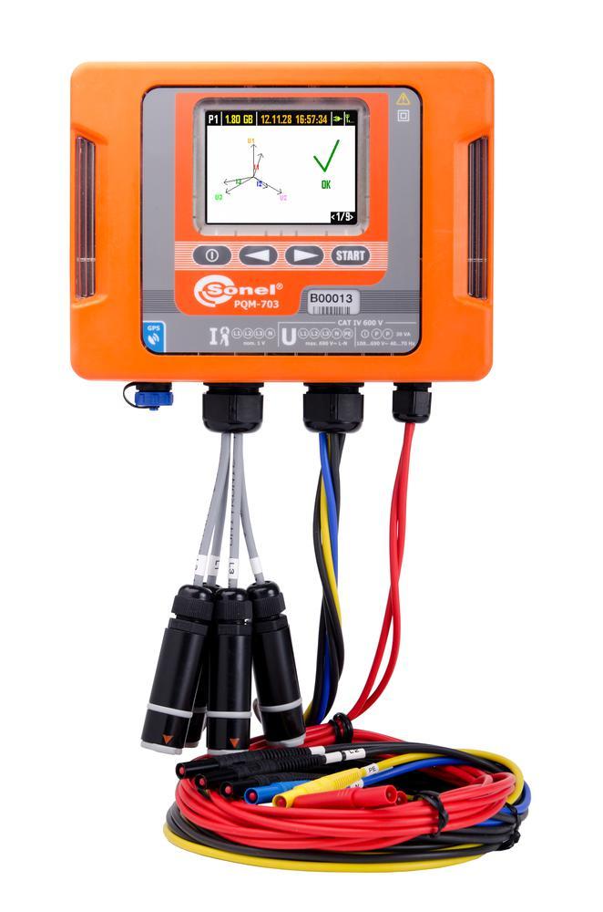 PQM-703 Analizator jakości zasilania