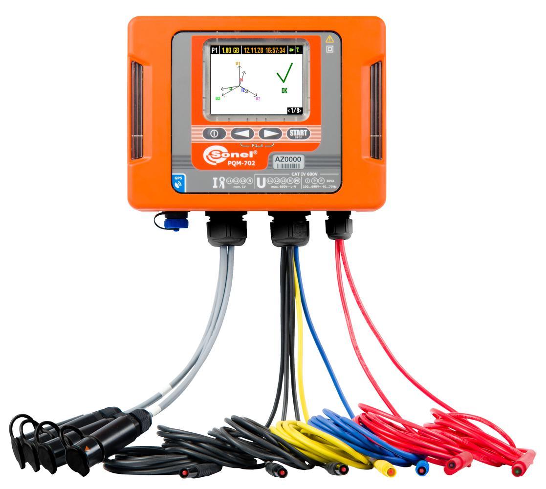 PQM-702 Analizator jakości zasilania