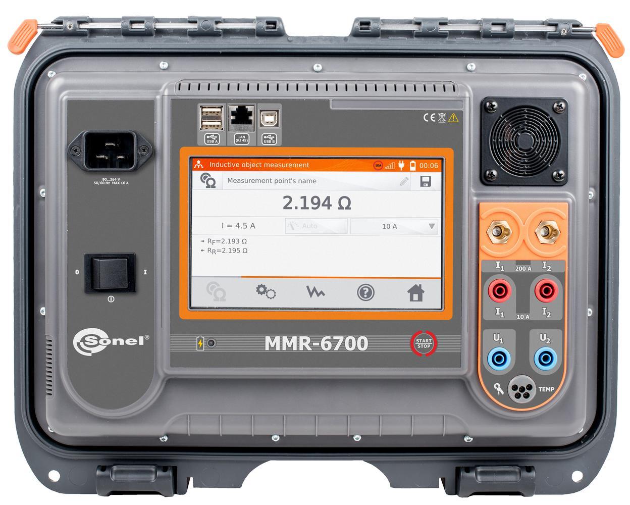MMR-6700 Miernik małych rezystancji