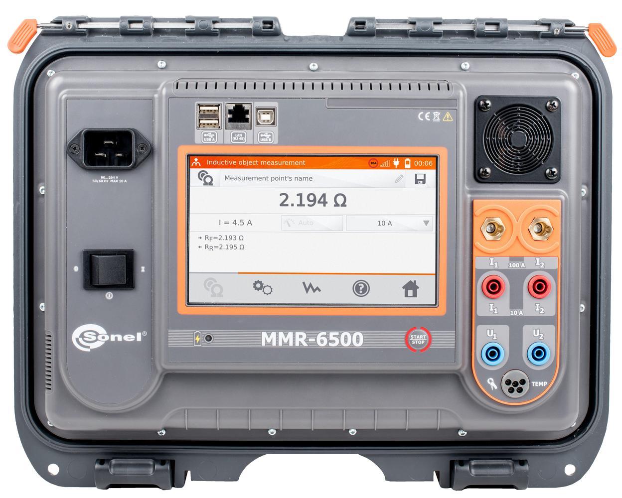 MMR-6500 Miernik małych rezystancji