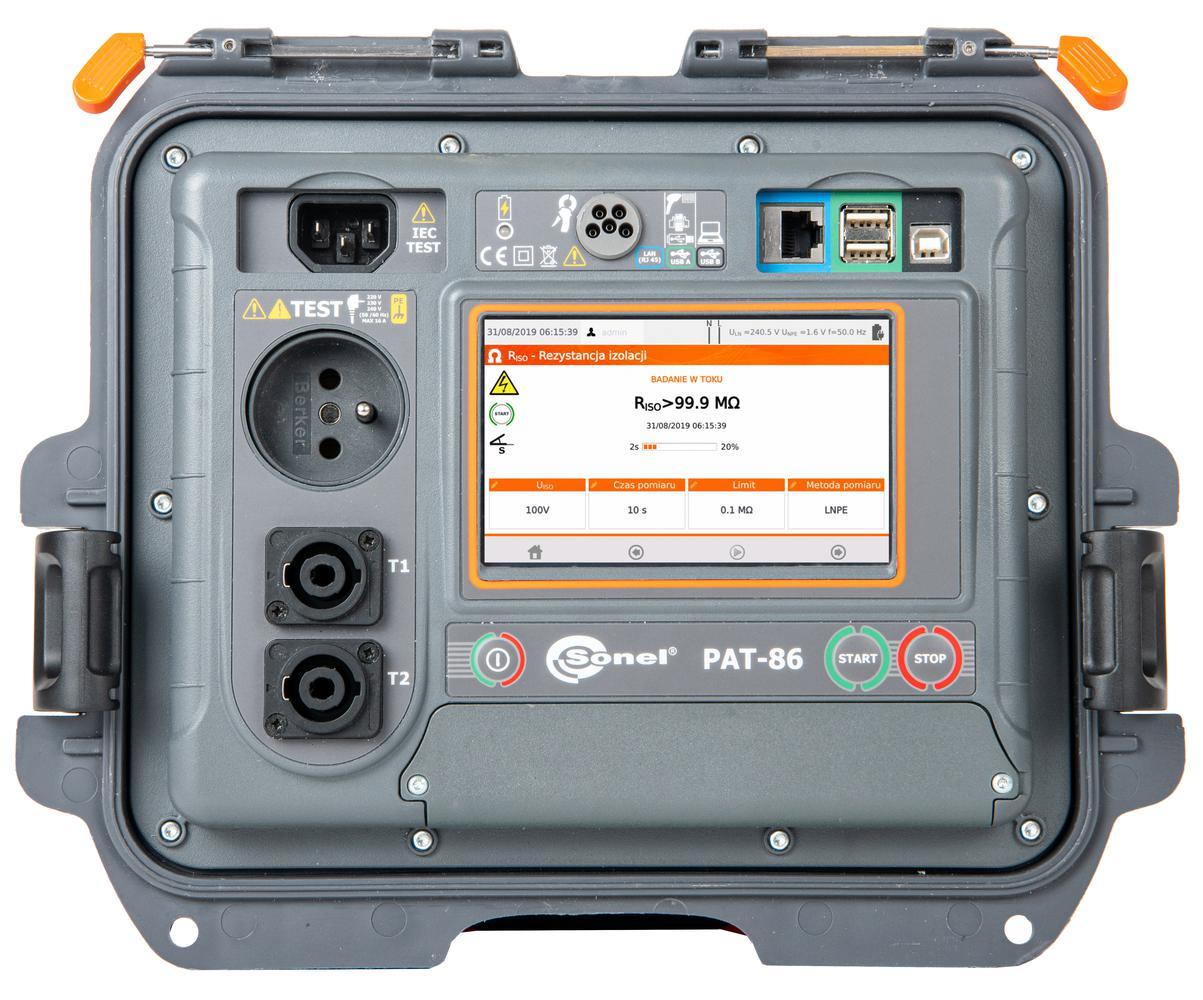 PAT-86 Miernik bezpieczeństwa sprzętu elektrycznego
