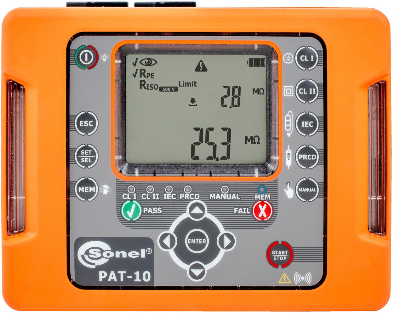 PAT-10 Miernik bezpieczeństwa sprzętu elektrycznego