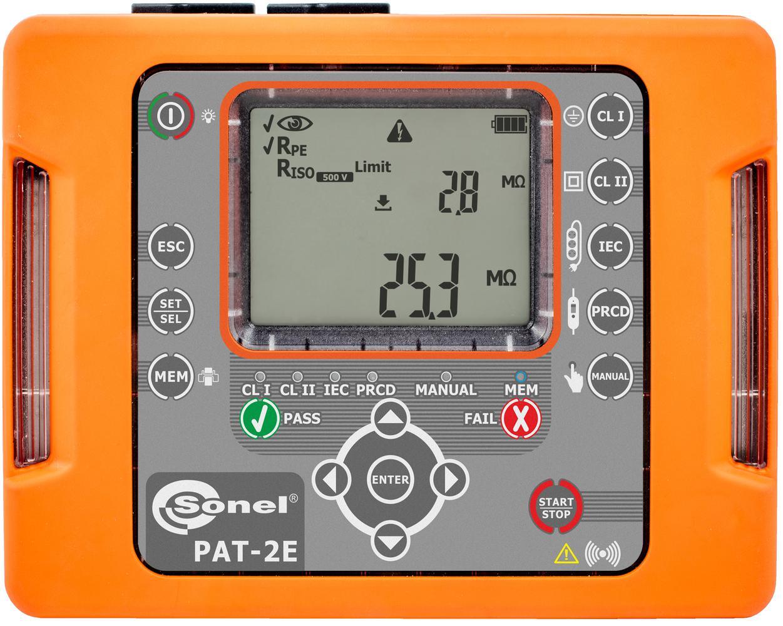 PAT-2E Miernik bezpieczeństwa sprzętu elektrycznego