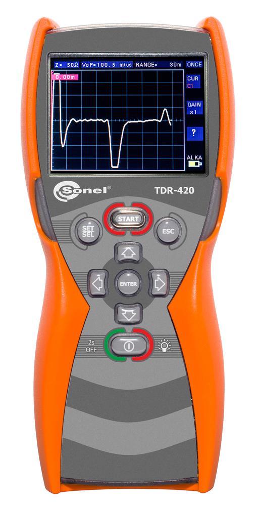 TDR-420 Reflektometr