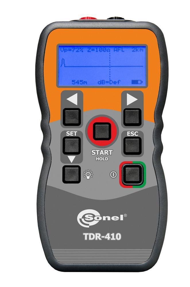 TDR-410 Reflektometr