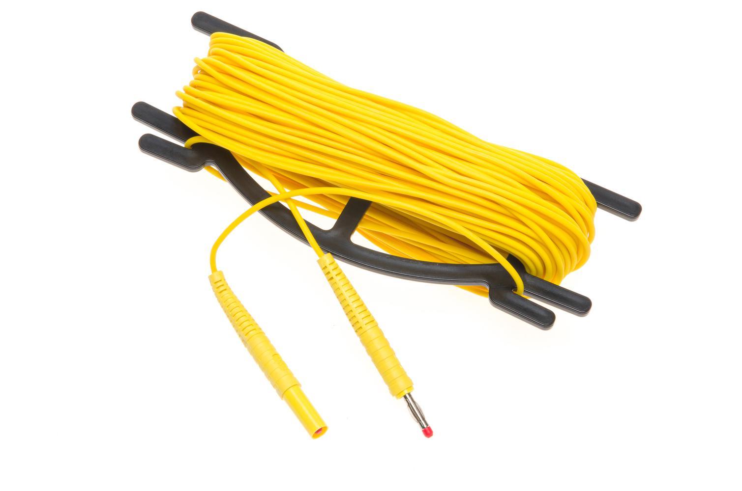 null Przewód 30 m żółty do pomiaru uziemień na nawijaku