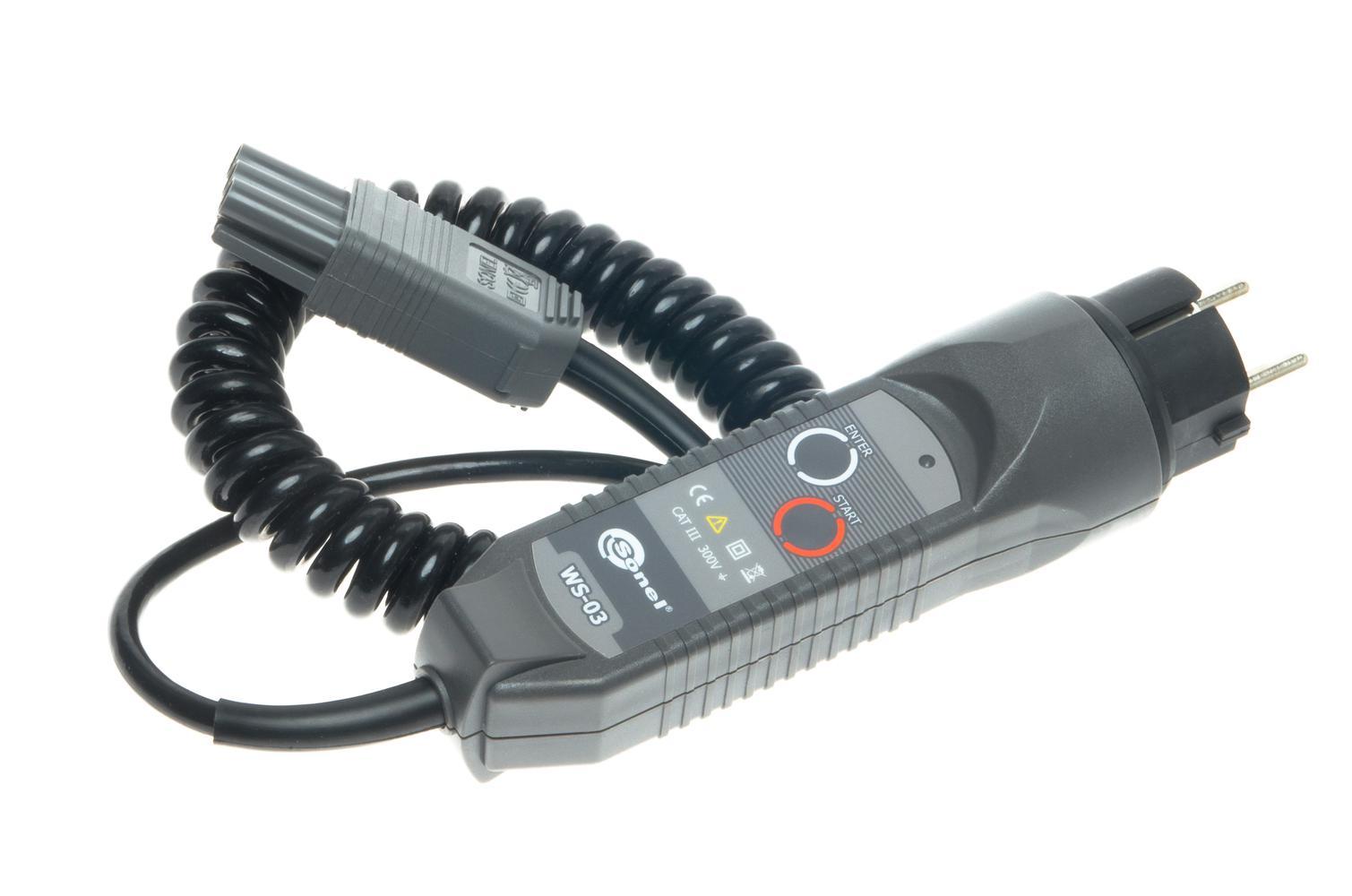 WS-03 Adapter wyzwalający pomiar (wtyk UNI-Schuko)