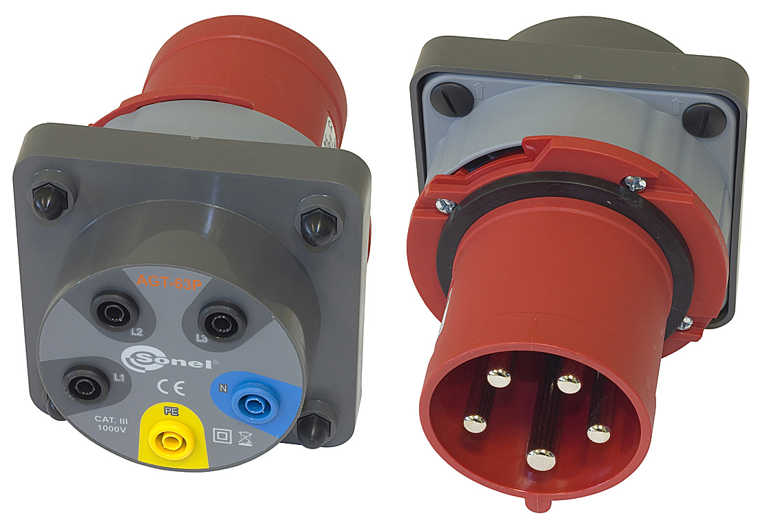 AGT-63P Adapter gniazd trójfazowych 63A