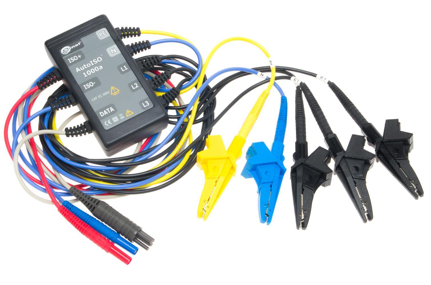 AutoISO-1000A Adapter do pomiarów kabli i przewodów wielożyłowych