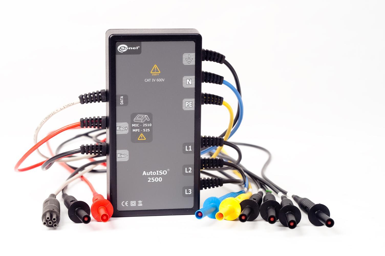 AutoISO-2500 Adapter do pomiarów kabli i przewodów wielożyłowych