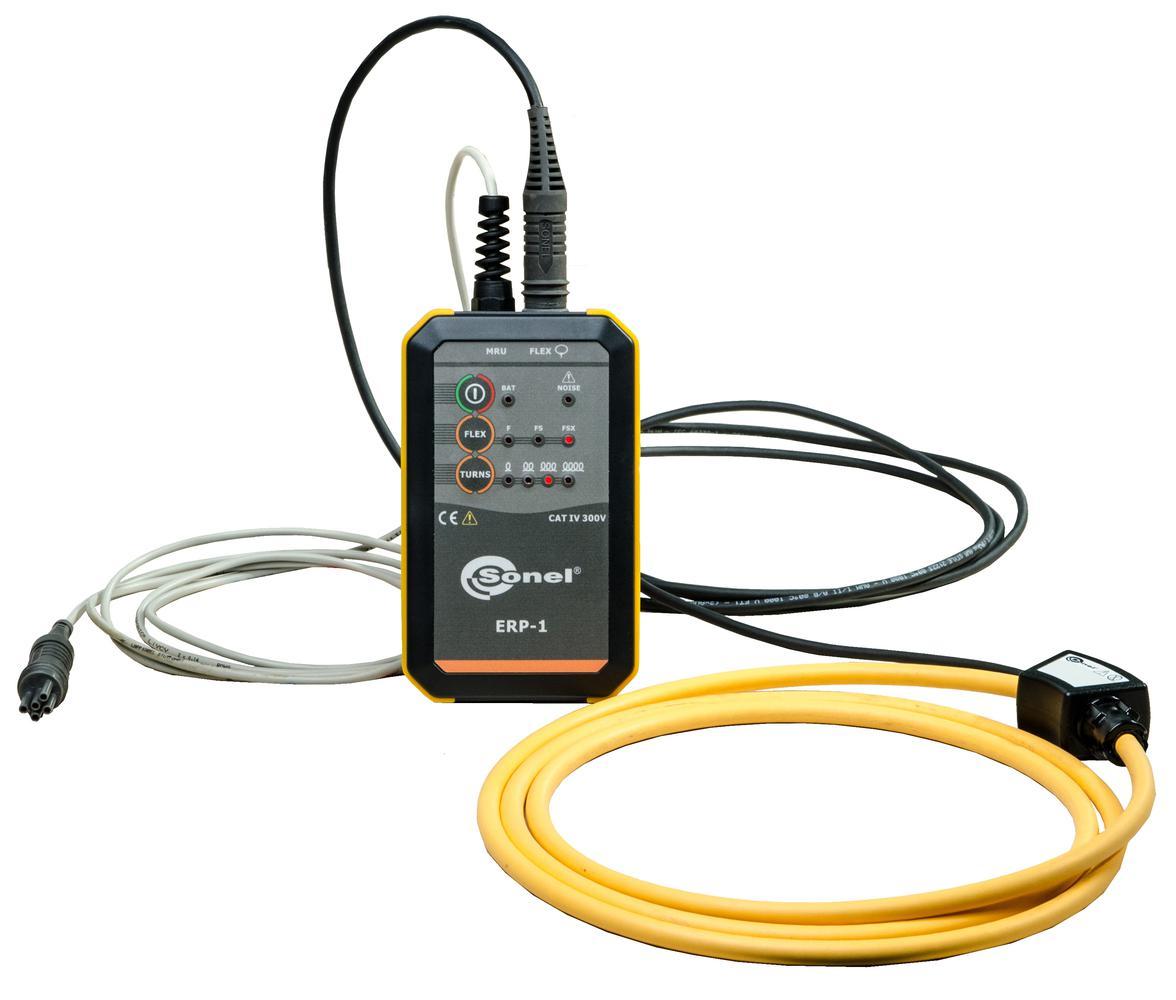 ERP-1 + FS-2 Zestaw do pomiarów uziemienia słupów: adapter ERP-1 i cęgi FS-2
