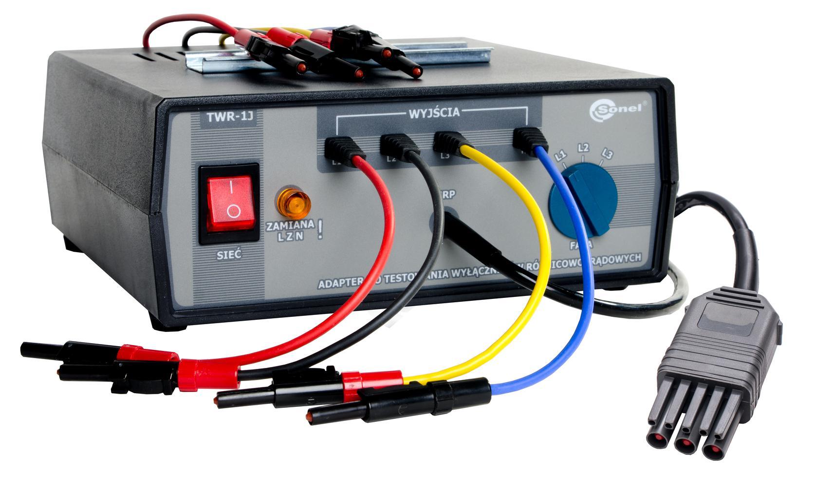 TWR-1J Adapter do testowania wyłączników RCD