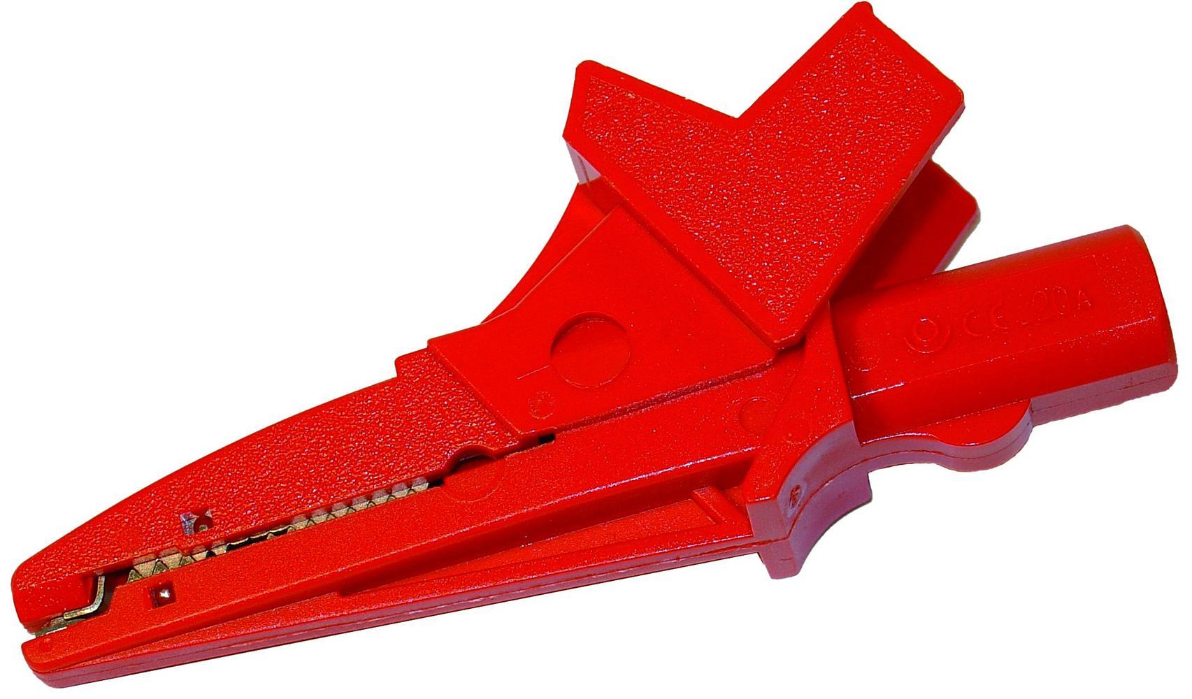 K-02 Krokodylek czerwony 1 kV 20 A