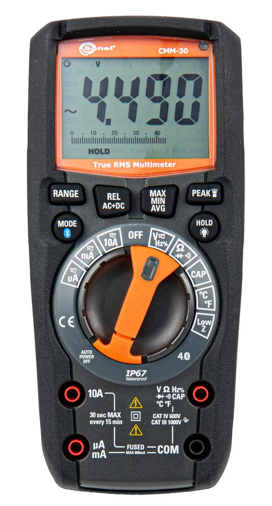 CMM-30 Multimetr przemysłowy