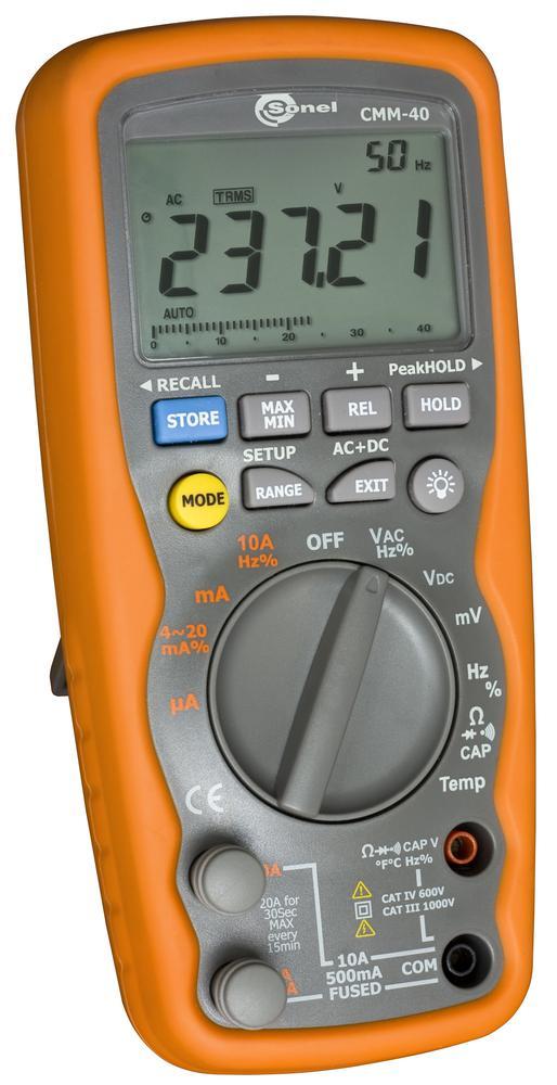 CMM-40 Multimetr przemysłowy