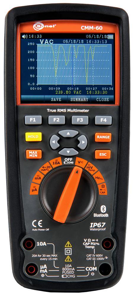 CMM-60 Zaawansowany multimetr przemysłowy