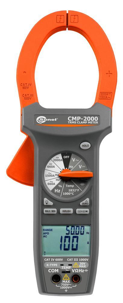 CMP-2000 Cyfrowy miernik cęgowy