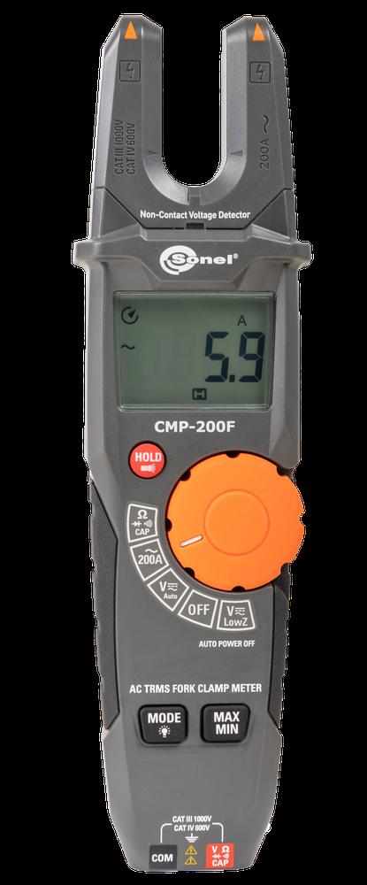 CMP-200F Cęgowy miernik widełkowy prądu AC