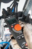 Cęgowy miernik widełkowy prądu AC CMP-200F - 1