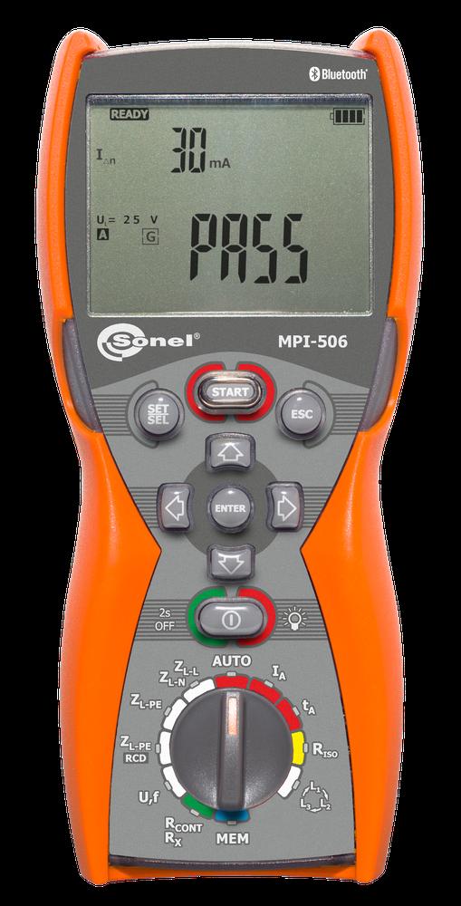 MPI-506 Miernik parametrów instalacji elektrycznych